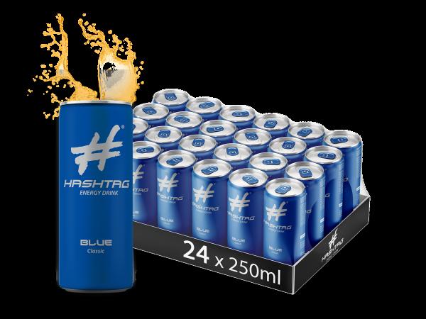 HASHTAG BLUE 24x0,25l