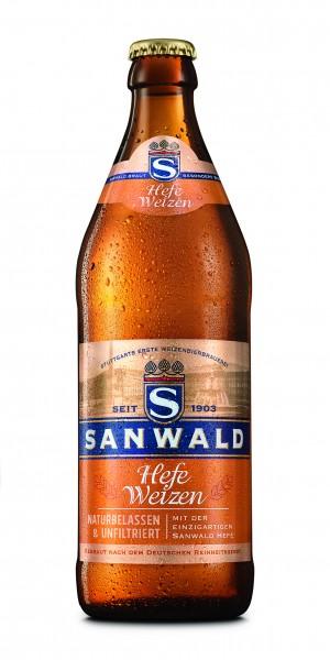 Sanwald Hefeweizen Hell 20x0,5l