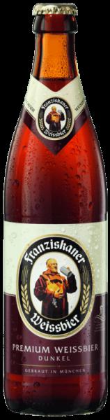 Franziskaner Hefe-Weissbier Dunkel 20x0,5l