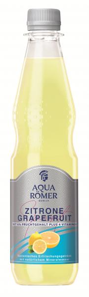 AQUA RÖMER Iso-Sport Zitrone-Grapefruit 12x0,5l PET